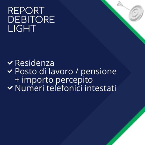 report debitore