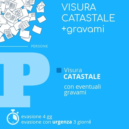 Visura catastale + Gravami