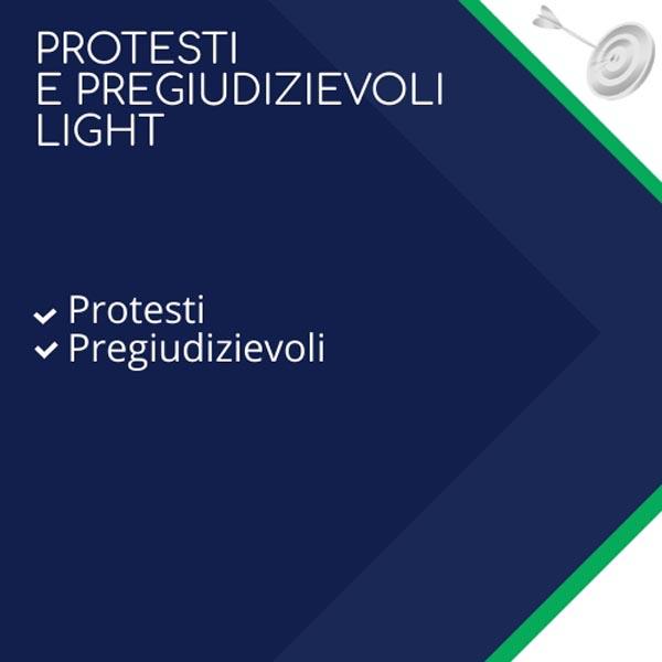 protesti e pregiudievoli